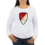 6th Cavalry Bde Women's Long Sleeve T-Shirt