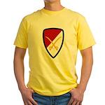 6th Cavalry Bde Yellow T-Shirt