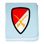 6th Cavalry Bde baby blanket