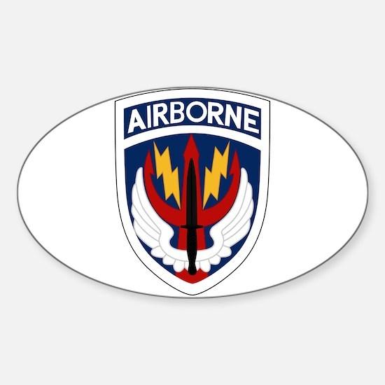 SOCCEN Sticker (Oval)