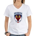 SOCCEN Women's V-Neck T-Shirt