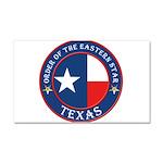 Texas Star OES Car Magnet 20 x 12