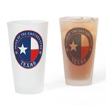 Texas Star OES Drinking Glass