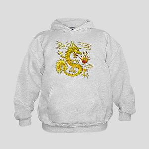 Golden Dragon Kids Hoodie