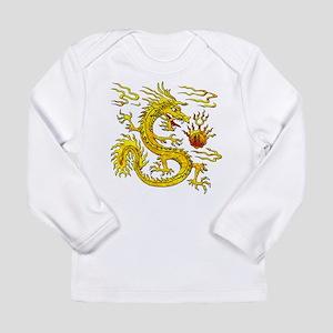 Golden Dragon Long Sleeve Infant T-Shirt