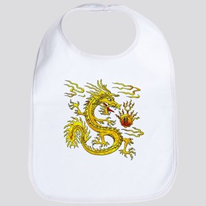 Golden Dragon Bib