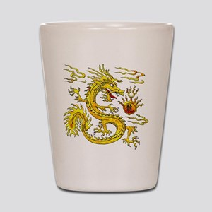 Golden Dragon Shot Glass