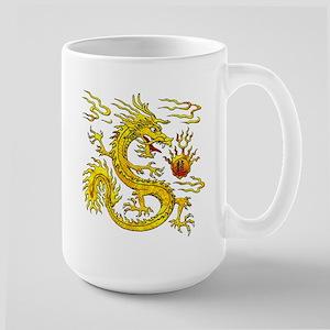Golden Dragon Large Mug