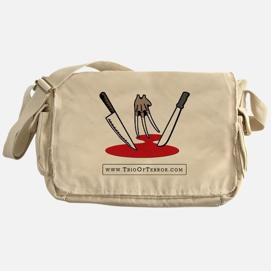 Trio Of Terror Messenger Bag