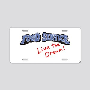 Food Service - LTD Aluminum License Plate