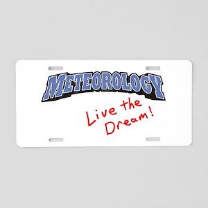 Meteorology - LTD Aluminum License Plate