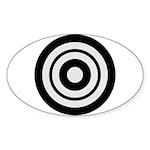 Kyudo Sticker (Oval)