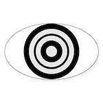Kyudo Sticker (Oval 10 pk)