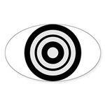 Kyudo Sticker (Oval 50 pk)