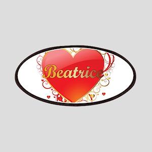 Beatrice Valentines Patches