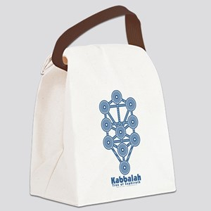 Kabbalah Tree of Life Canvas Lunch Bag