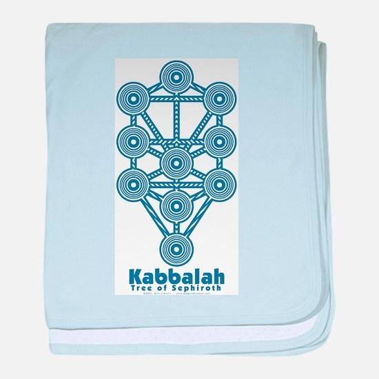 Kabbalah Tree of Life baby blanket