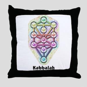 Kabbalah Tree of Life Throw Pillow