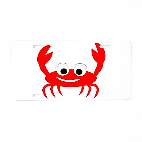 Crab Design Aluminum License Plate  sc 1 st  CafePress & Funny Aquatic Animals Aluminum License Plates - CafePress