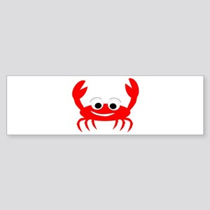 Crab Design Sticker (Bumper)