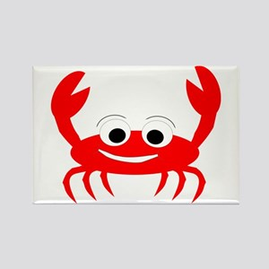 Crab Design Rectangle Magnet