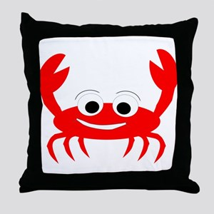 Crab Design Throw Pillow