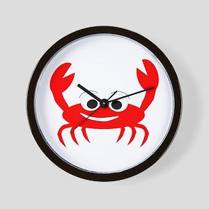 Crab Design Wall Clock
