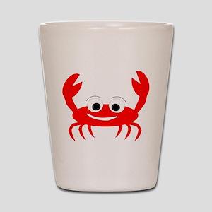 Crab Design Shot Glass