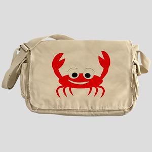 Crab Design Messenger Bag