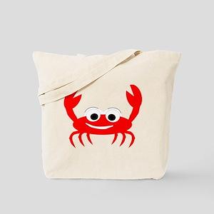 Crab Design Tote Bag