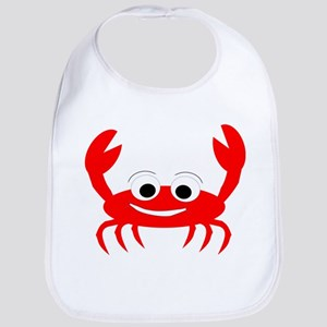 Crab Design Bib