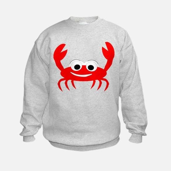 Crab Design Sweatshirt