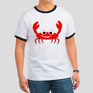 Crab Design Ringer T