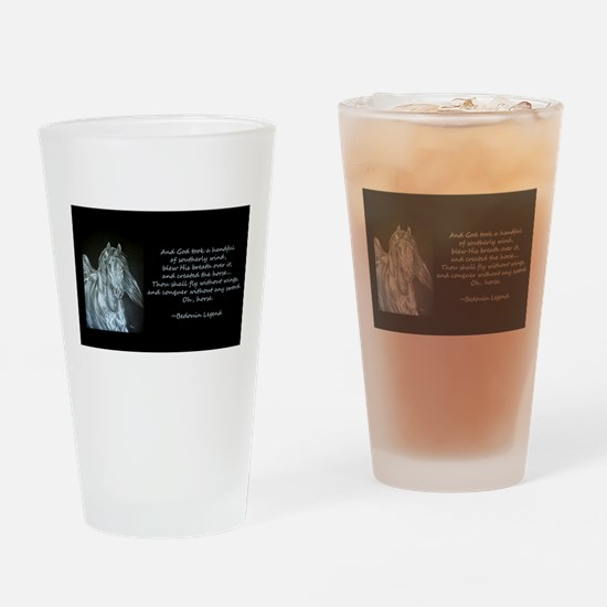 Legend of the Horse Drinking Glass