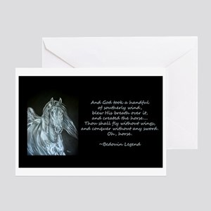 Legend of the Horse Greeting Card
