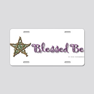 Blessed Be II Aluminum License Plate