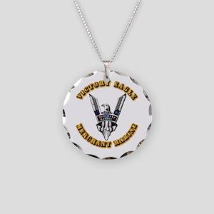 Army - Merchant Marine - Victory Eagle Necklace Ci