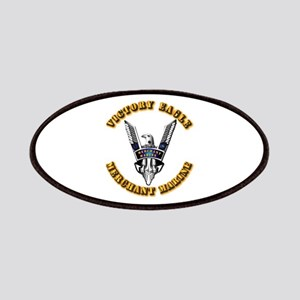 Army - Merchant Marine - Victory Eagle Patches