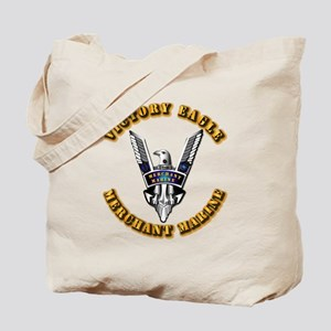 Army - Merchant Marine - Victory Eagle Tote Bag