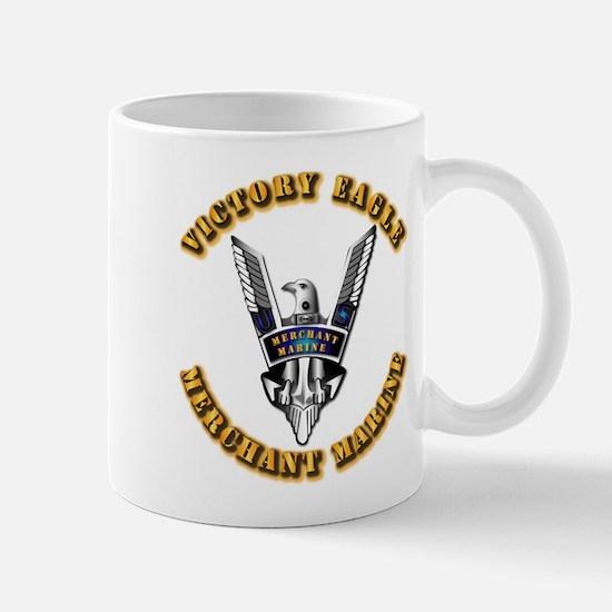 Army - Merchant Marine - Victory Eagle Mug