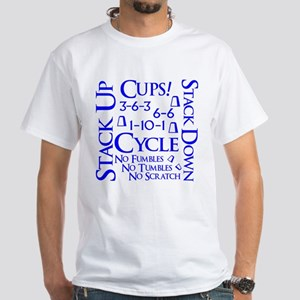 Cups Cube White T-Shirt