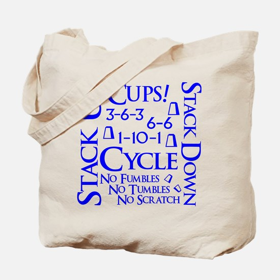 Cups Cube Tote Bag (on both sides)