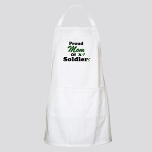 Proud Mom 4 Soldiers BBQ Apron