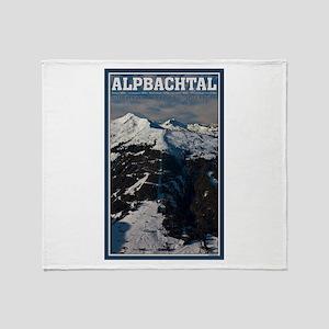 Alpbahtal Throw Blanket