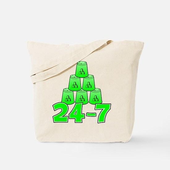 24-7 Tote Bag (on both sides)