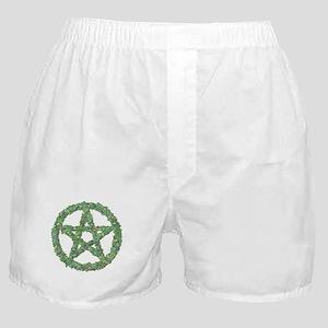 Leaf Pentacle Boxer Shorts