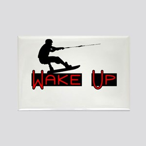 Wake Up 1 Rectangle Magnet
