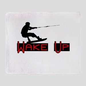 Wake Up 1 Throw Blanket