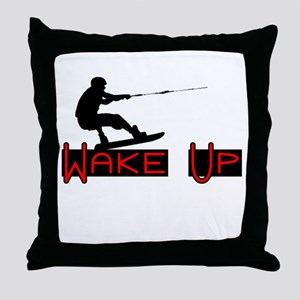 Wake Up 1 Throw Pillow