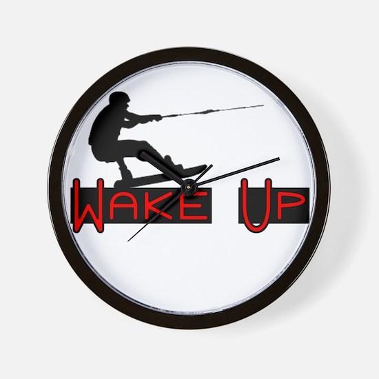 Wake Up 1 Wall Clock